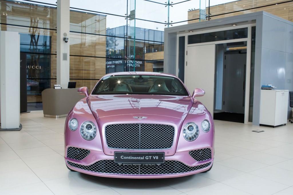BENTLEY CONTINENTAL GT V8 PASSION PINK - изображение 110217Mercury_Auto_001-1024x683 на Bentleymoscow.ru!