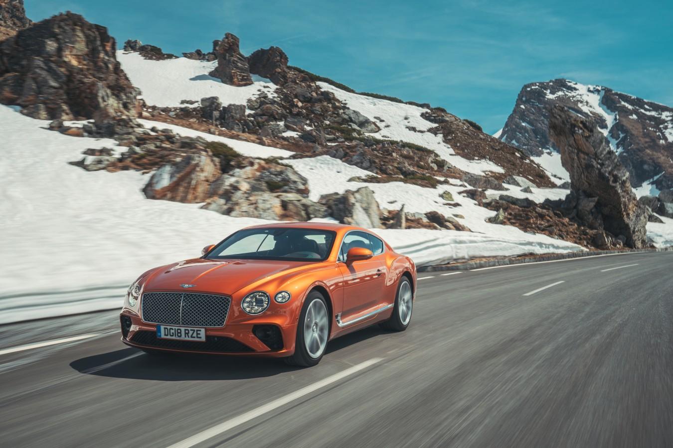 BENTLEY WINTER TOUR - изображение Bentley-Continental-GT-Orange-Flame-71 на Bentleymoscow.ru!