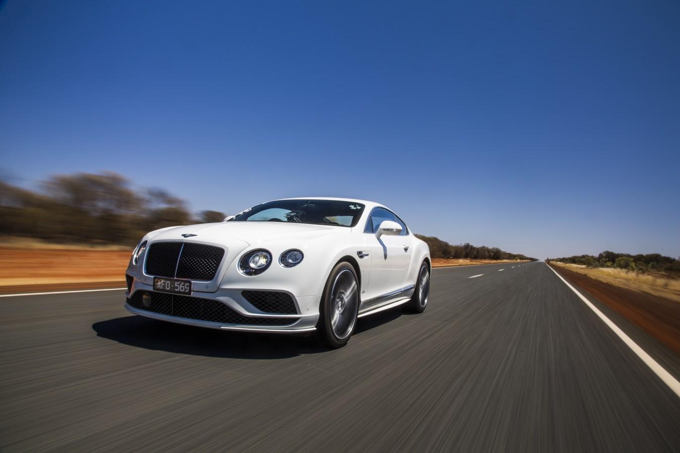 ВЕСЕННИЙ ФЕСТИВАЛЬ АВТОМОБИЛЕЙ С ПРОБЕГОМ BENTLEY PRE-OWNED! - изображение Bentley-Continental-GT-Speed_-Vmax-in-the-outback на Bentleymoscow.ru!