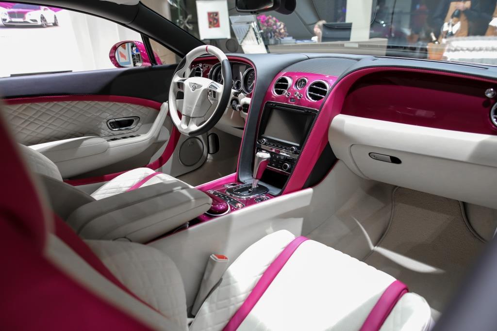 УНИКАЛЬНЫЙ BENTLEY CONTINENTAL GT V8             MAGENTA EDITION - изображение IMG-022 на Bentleymoscow.ru!