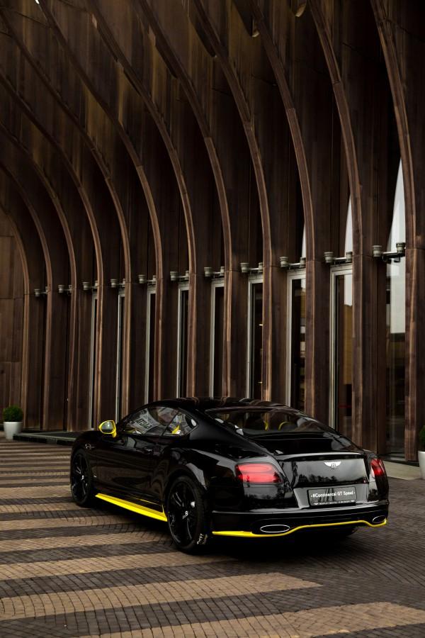 ОБНОВЛЕННЫЙ CONTINENTAL GT SPEED В ЭКСКЛЮЗИВНОЙ МОДИФИКАЦИИ BLACK EDITION - изображение NICK9109 на Bentleymoscow.ru!
