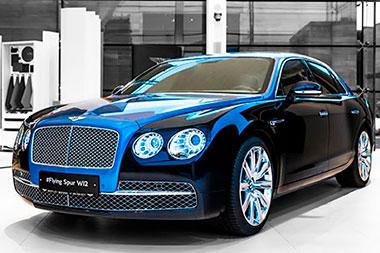 Bentley Mulsanne EWB Hallmark Edition Gold Pack - изображение NICK9920_01 на Bentleymoscow.ru!