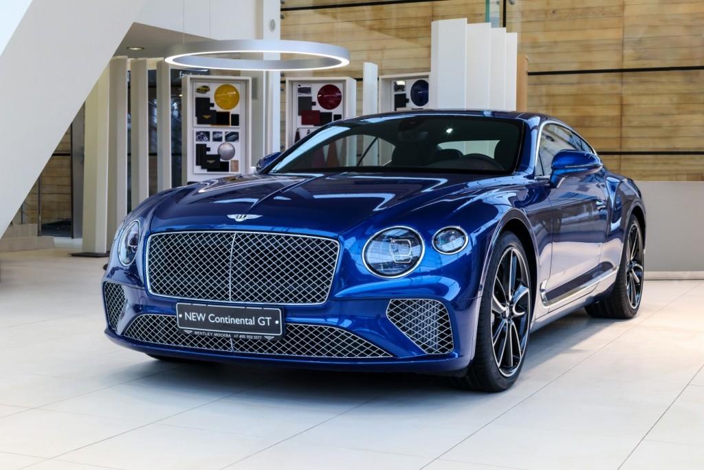 Bentley New Continental GT Sequin Blue - изображение SCBCA13S9KC071442_GT_SequinBlue-1-1024x683 на Bentleymoscow.ru!
