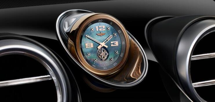 Часы с турбийоном для Bentayga